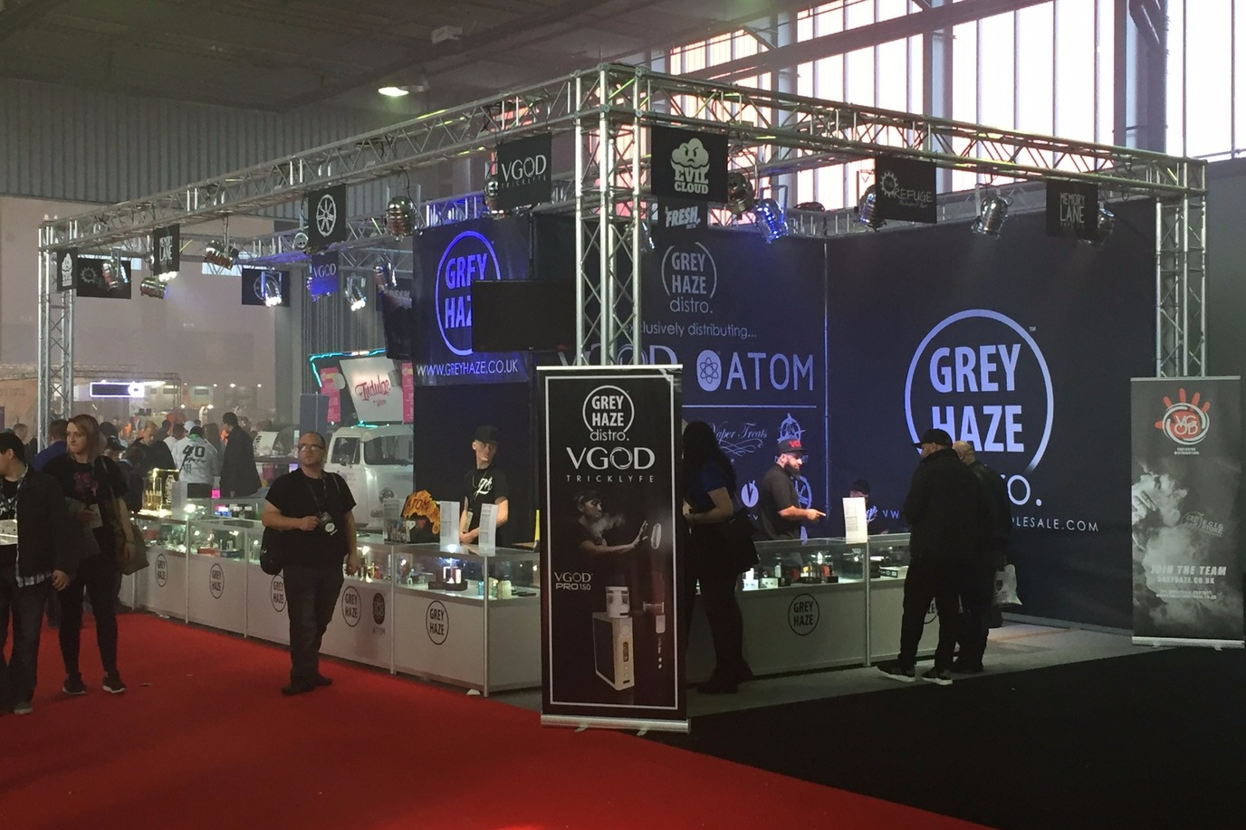 Exhibition Stand Hire | TV Screens | Truss Structures | PA Hire